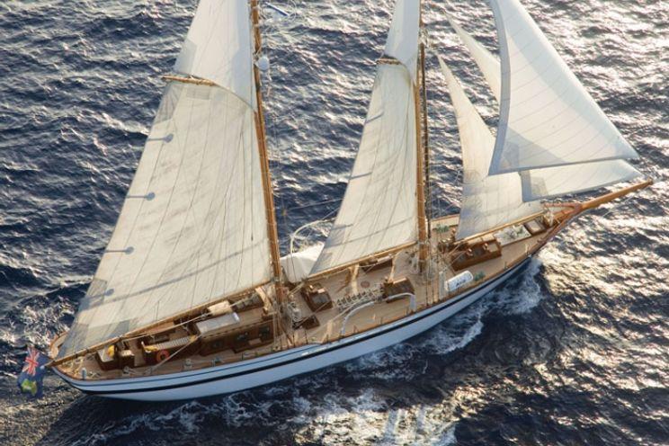 Charter Yacht LADY THURAYA - 31m Lubbe Voss - 4 Cabins - Palma - Cannes - Monaco - Naples - Dubrovnik