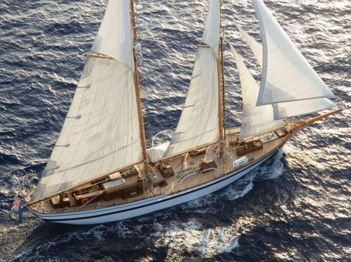 LADY THURAYA - 31m Lubbe Voss - 4 Cabins - Palma - Cannes - Monaco - Naples - Dubrovnik
