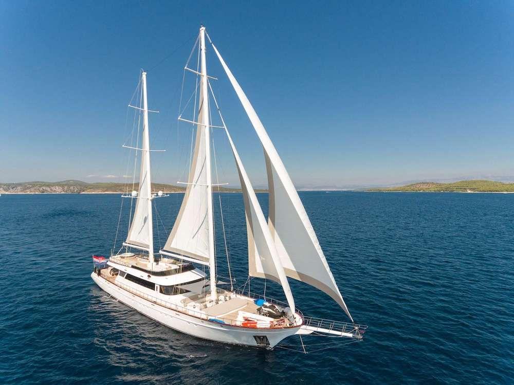 LADY GITA - 50m Custom Gulet - 6 Cabins - Split - Zadar - Dubrovnik
