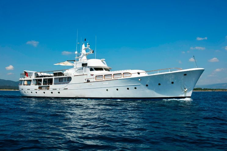 Charter Yacht LADY JERSEY - Abeking and Rasmussen 36m - 5 Cabins - Cannes - Antibes - St Tropez - Monaco