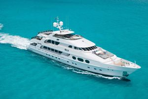 LADY JOY - Christensen 157 - 6 Cabins - Cannes - Monaco - Portofino - St Maarten - Nassau - Tortola - St Vincent