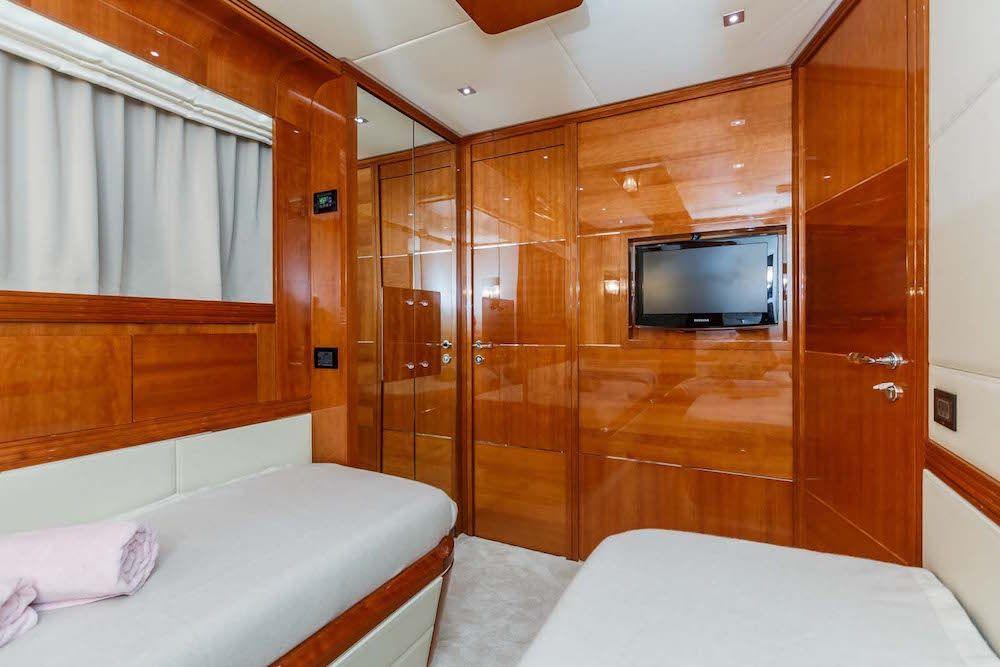 First Twin Cabin