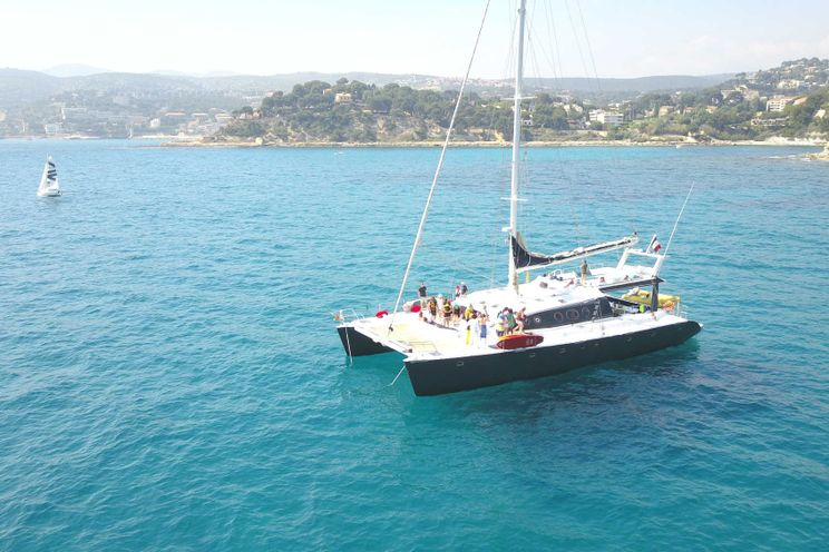 Charter Yacht LADY PACA - Riviera Event Catamaran - Cannes - 30 Cruising Guests