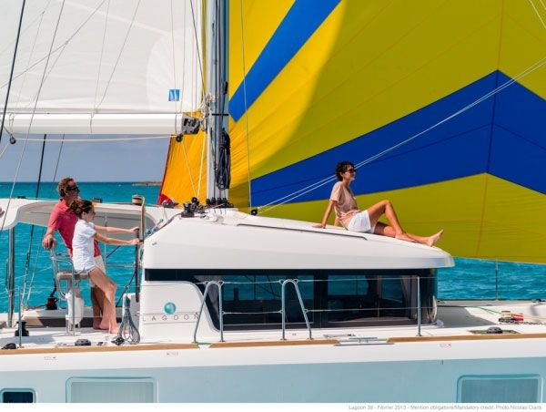 Lagoon 39 - 4 Cabins - New Caledonia,South Pacific