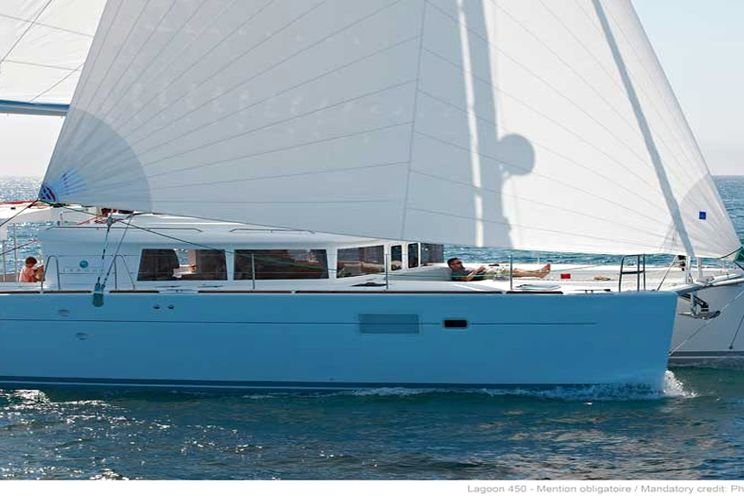Charter Yacht Lagoon 450 - 4 Cabins - Tortola,BVI