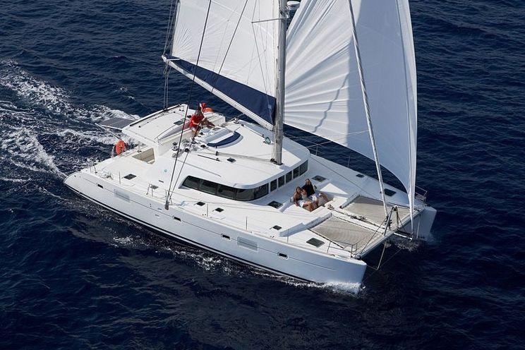 Charter Yacht SASHA - Lagoon 500 - 3 Cabins - Village Cay Tortola - Beef Island - Virgin Gorda - Bequia - The Grenadines