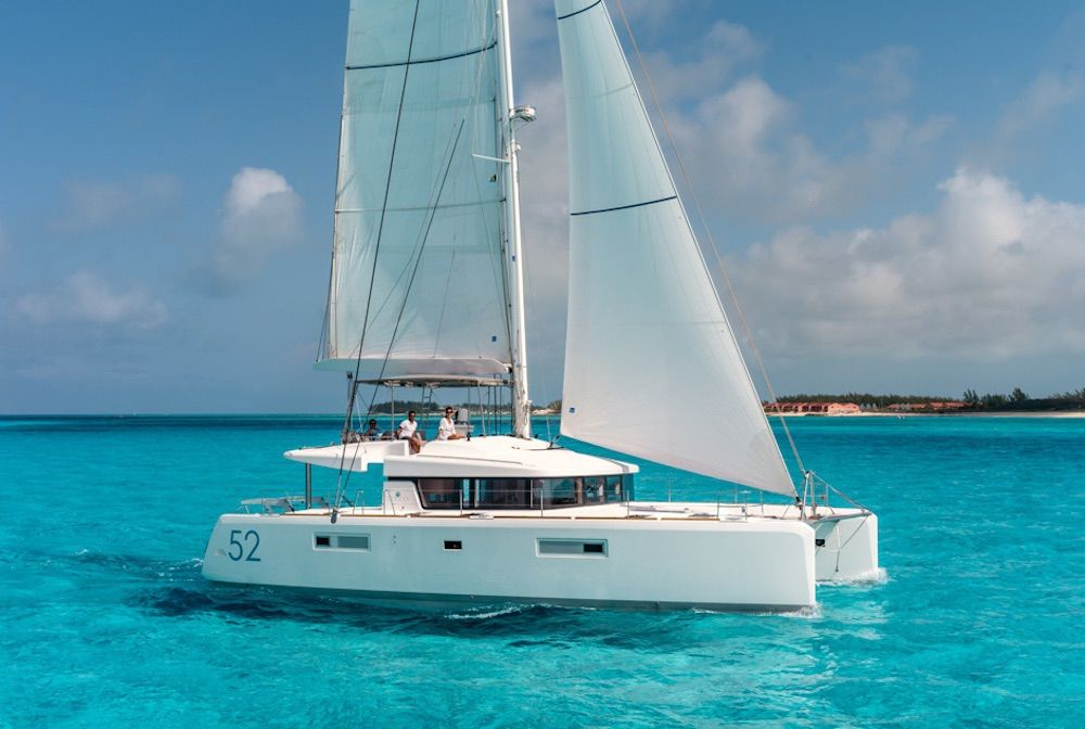 Lagoon 52 - 8 Cabins - 2015 - Bahamas - Tortola