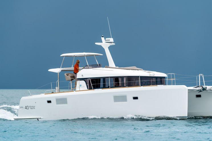 Charter Yacht Lagoon 40 Power Catamaran - 3 cabins(3 double)- 2015 - Nassau - Staniel Cay