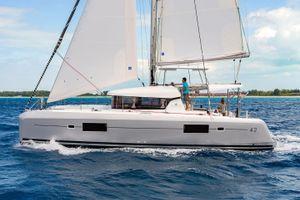 Lagoon 42 - 4 + 2 cabins (4 double 2 single) - 2020 - Athens - Mykonos - Kos - Paros