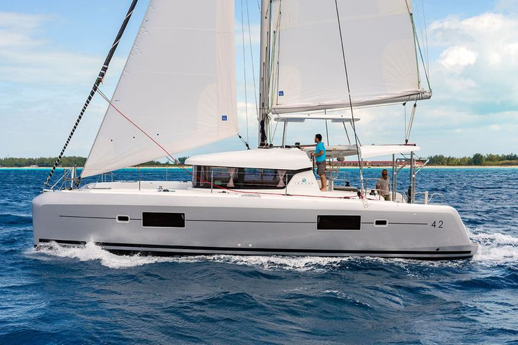 Charter Yacht Lagoon 42 - 4 + 2 cabins(4 double 2 single)- 2020 - Athens - Mykonos - Kos - Paros