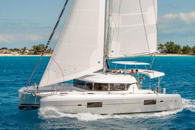 Charter Yacht Lagoon 42 - 4 + 2 cabins (4 double 2 cabins) - 2019 - Capo d`Orlando - Milazzo  - Aeolian Islands