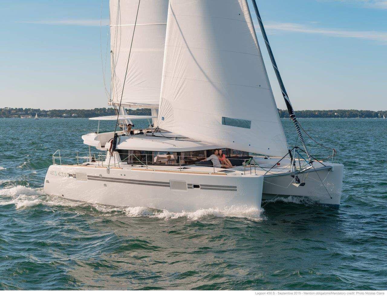 Lagoon 450S - 2018 - 4 + 2 cabins (4 double 2 single) - BIograd - Sibenik - Zadar - Kornati