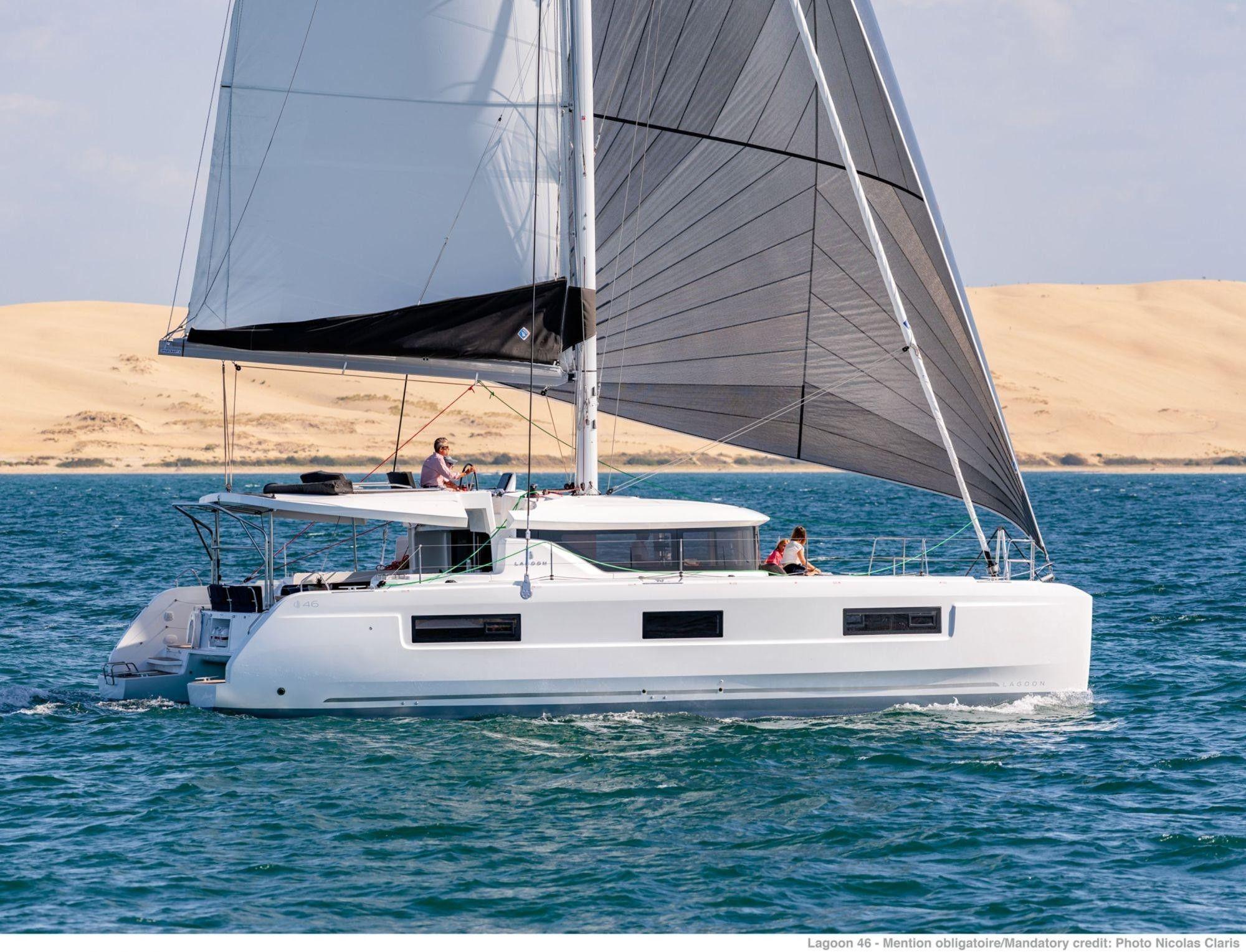 Lagoon 46 - 4 + 2 cabins (4 double 2 single) - 2020 - Portisco