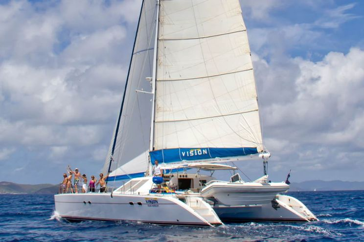 Charter Yacht Lagoon 57 - Day Charter and Week Long Charter- 2017 - 4 Cabins(4 cabins)- Tortola - BVI
