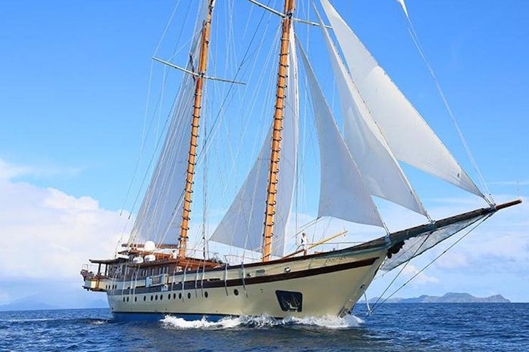 Charter Yacht LAMIMA - 7 Cabins - Indonesia, Thailand, Myanmar, Southeast Asia