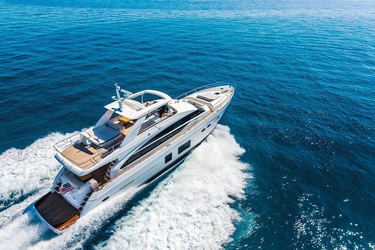 Charter Yacht LARIMAR II - Princess 84 - 4 Cabins - Split - Dubrovnik - Hvar
