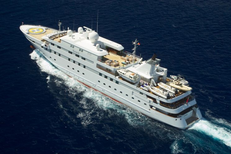 Charter Yacht LAUREN L - 90m Custom Build - 24 Cabins - Monaco - Maldives - Greece