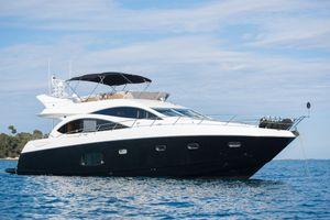 LAZY P - Sunseeker Manhattan 70 - 4 Cabins - Cannes - Monaco - St Tropez - Portofino