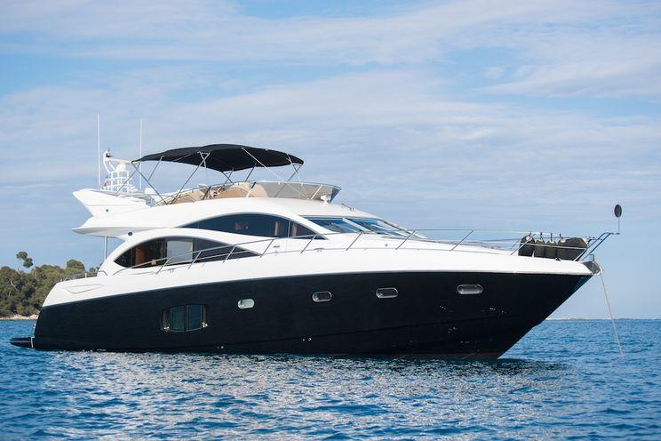 Charter Yacht LAZY P - Sunseeker Manhattan 70 - 4 Cabins - Cannes - Monaco - St Tropez - Portofino