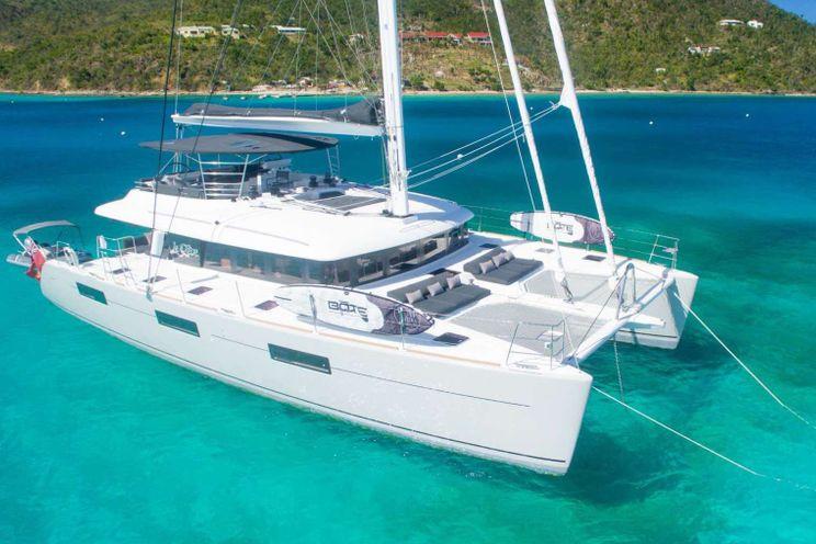 Charter Yacht LE REVE - Lagoon 620 Owners Version - 3 Cabins - Tortola - St Thomas - Leeward Islands - Virgin Islands