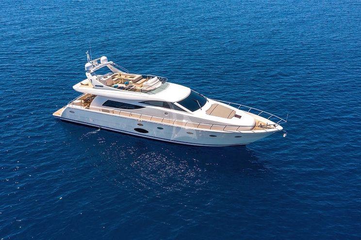 Charter Yacht LEGEND - Uniesse 70 - 4 Cabins - Athens - Paros - Mykonos