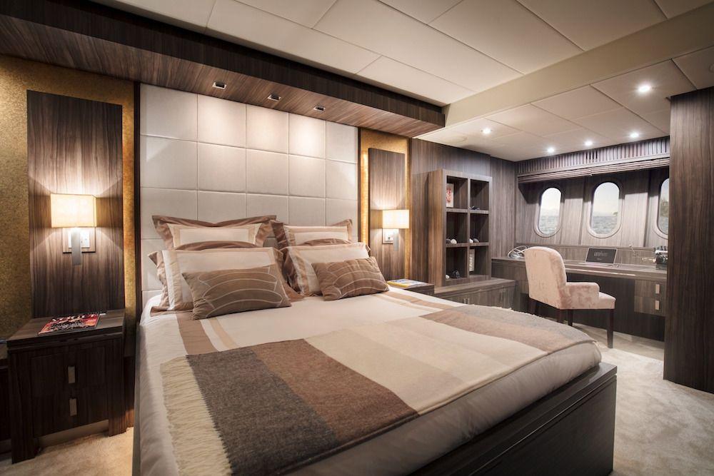 Leopard 34m Motor Yacht Master Cabin