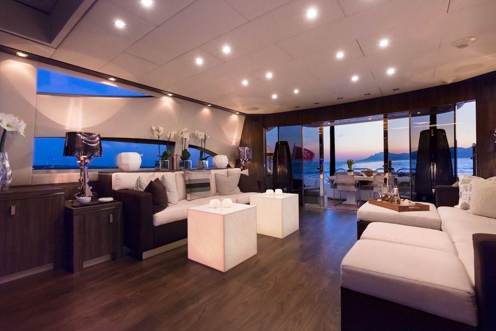Leopard 34m Motor Yacht Salon