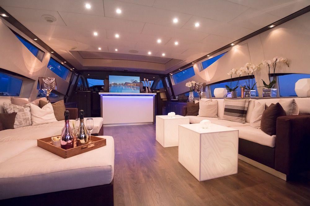 Leopard 34m Motor Yacht Saloon
