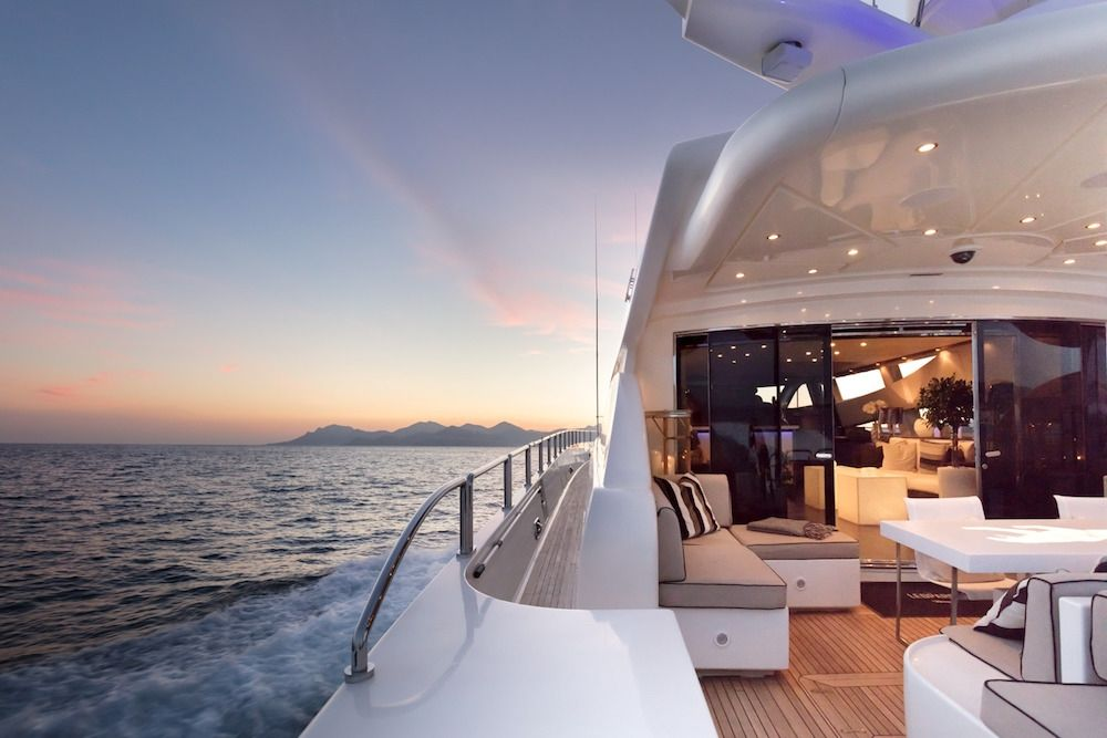 Leopard 34m Motor Yacht Aft Deck