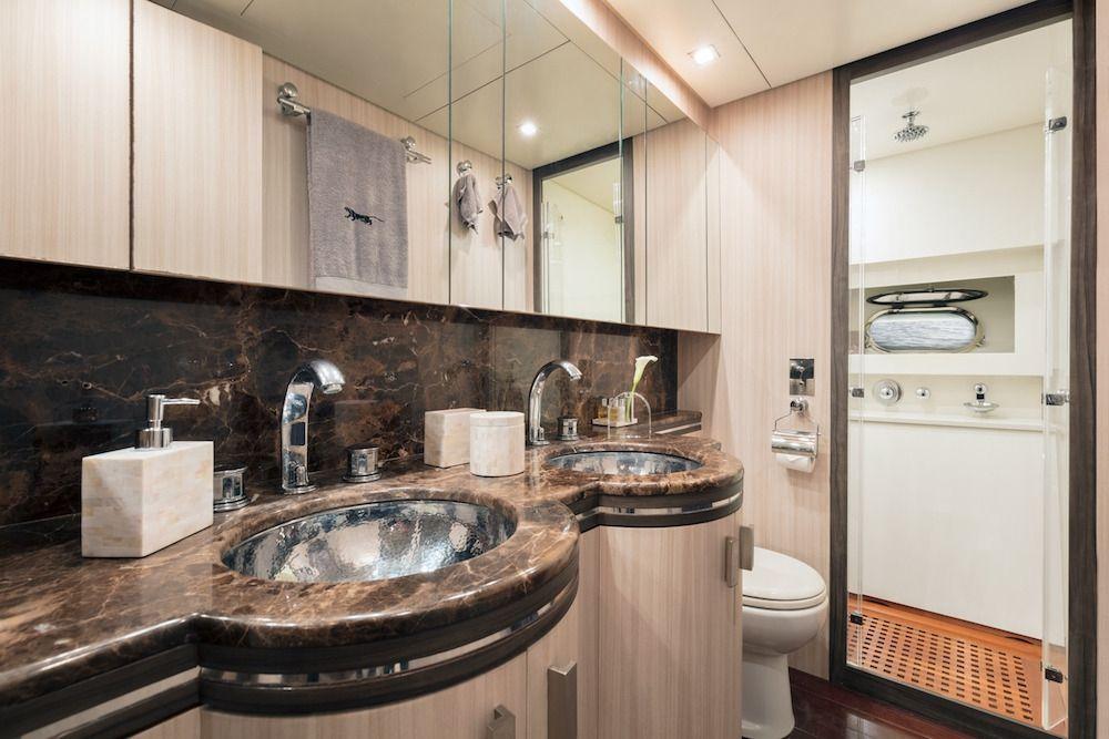 Leopard 34m Motor Yacht Bathroom