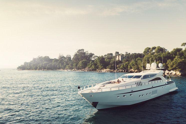 Charter Yacht LEOPARD - Leopard 34m - 5 Cabins - Cannes - Monaco - St Tropez