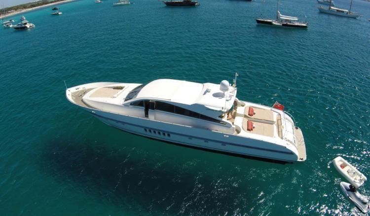 Leopard 27m - Ibiza Day Charter Yacht - Marina Ibiza - Formentera