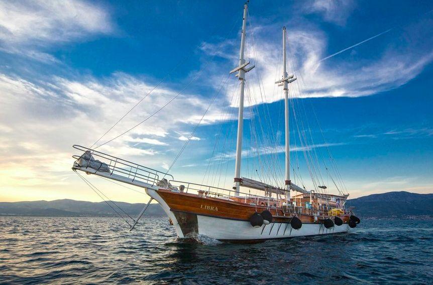 LIBRA - 28m Gulet Motor Sailor - 6 Cabins - Split - Kastela - Trogir