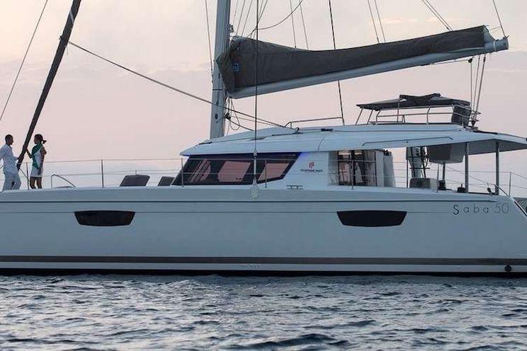 Charter Yacht LIBRA - Fountaine Pajot Saba 50 - 5 Cabins - St Thomas - Tortola - BVI