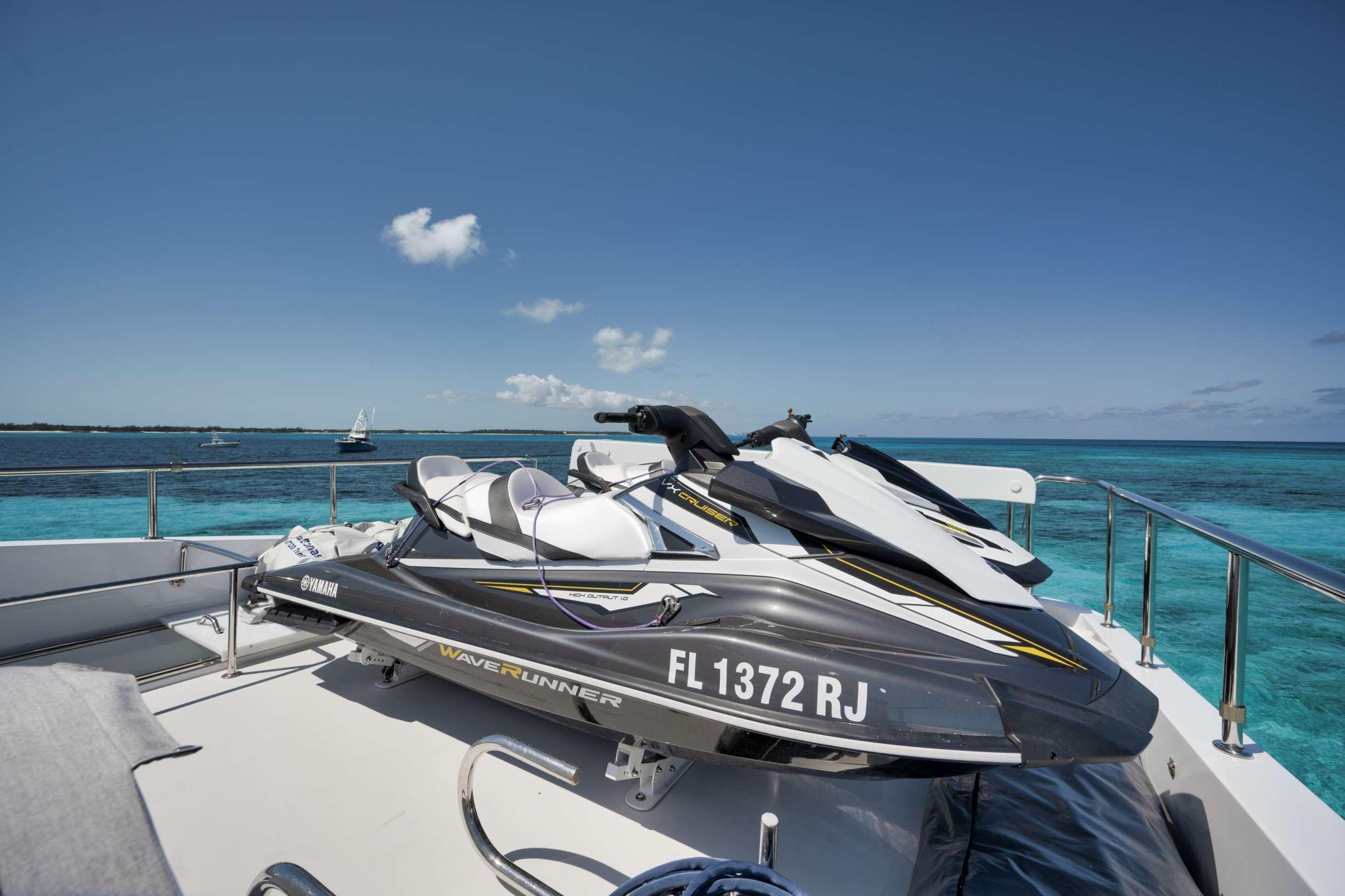 LIMITLESS Crewed Motor Yacht Jet Ski