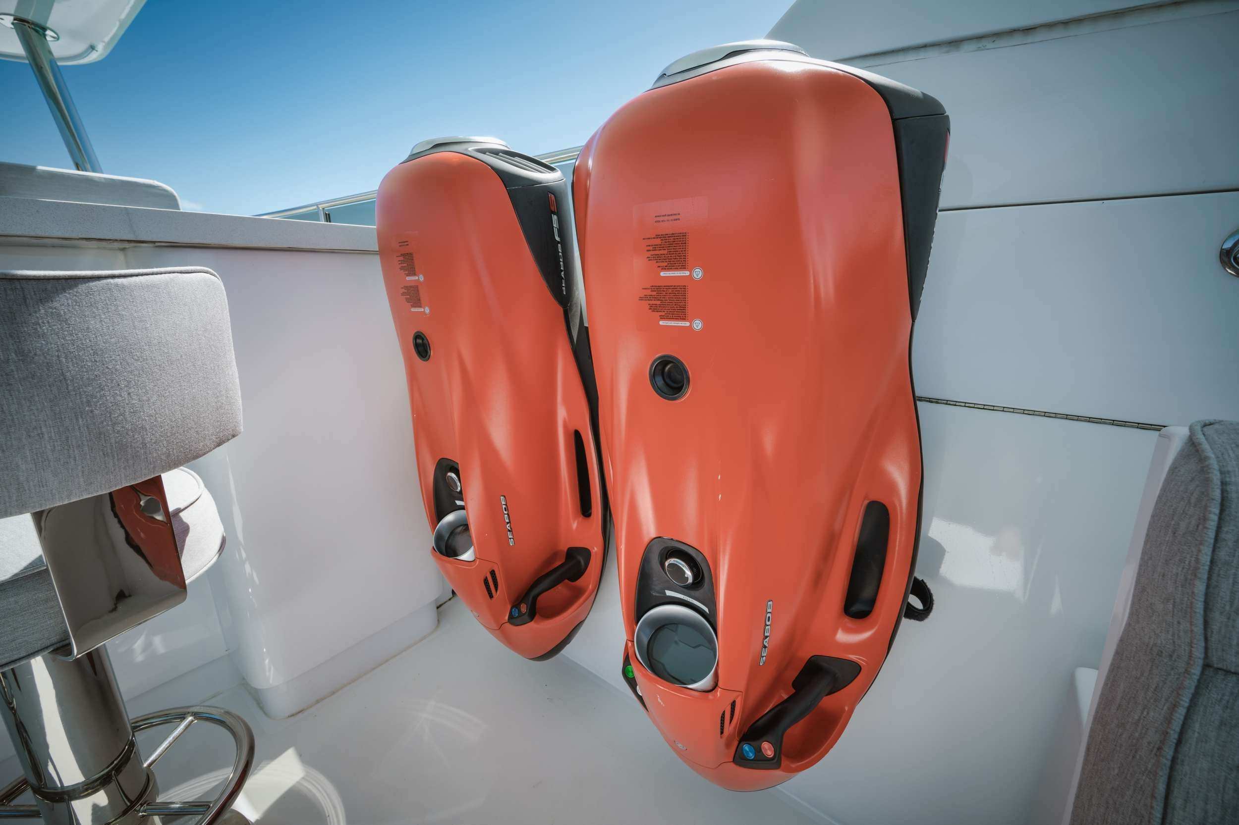 LIMITLESS Crewed Motor Yacht Seabobs