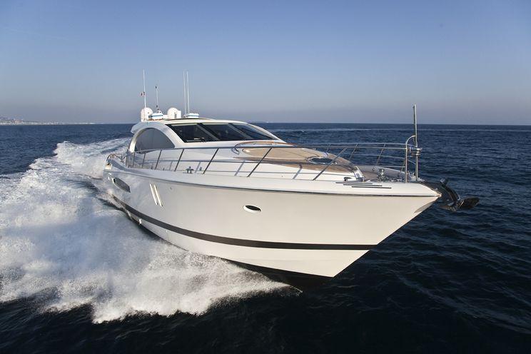 Charter Yacht LIZZI - Lazzara 75 - 3 Cabins - Cannes - Mandelieu La Napoule - Antibes