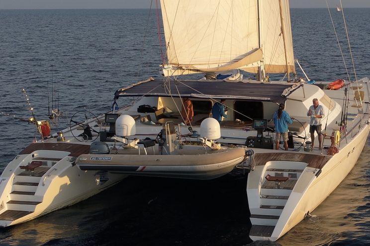 Charter Yacht LONESTAR - Custom 85 Catamaran - 6 Cabins - Anambas islands - Phuket - Malaysia - Myanmar - Mergui archipelago