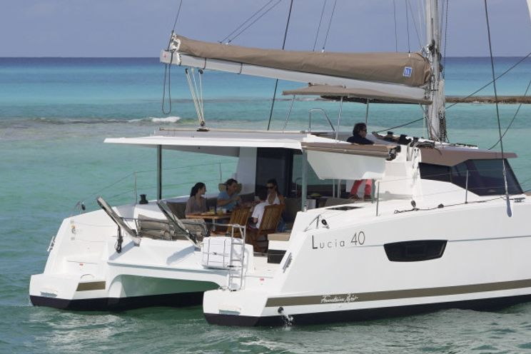 Charter Yacht Fountaine Pajot Lucia 40 - 4 + 2 cabins (4 double 2 single) - 2018 - Mykonos - Athens