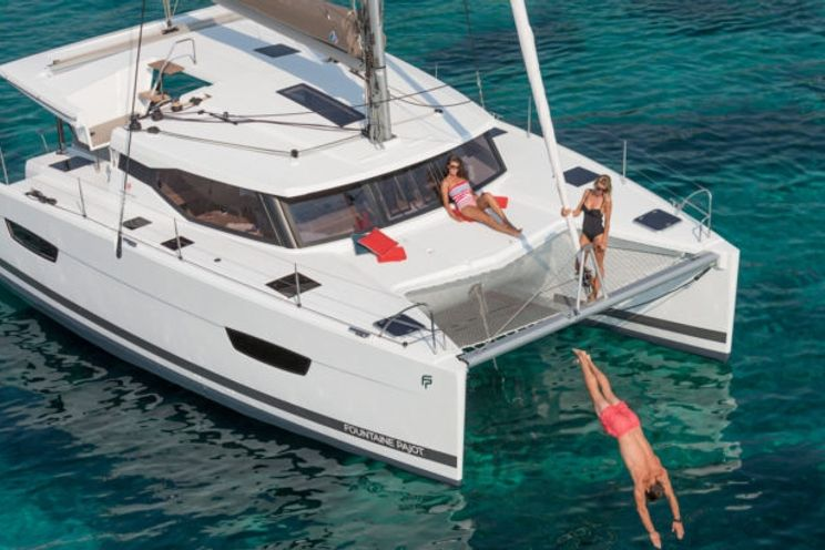 Charter Yacht Fountaine Pajot Lucia 40 - 4 cabins (4 double) - 2019 - Corfu