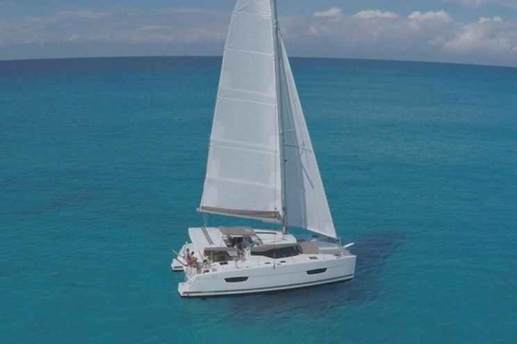 Charter Yacht Lucia 40 - 2019 - 4 cabins(4 double)- USVI - BVI