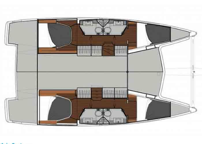 Lucia 40 - Layout