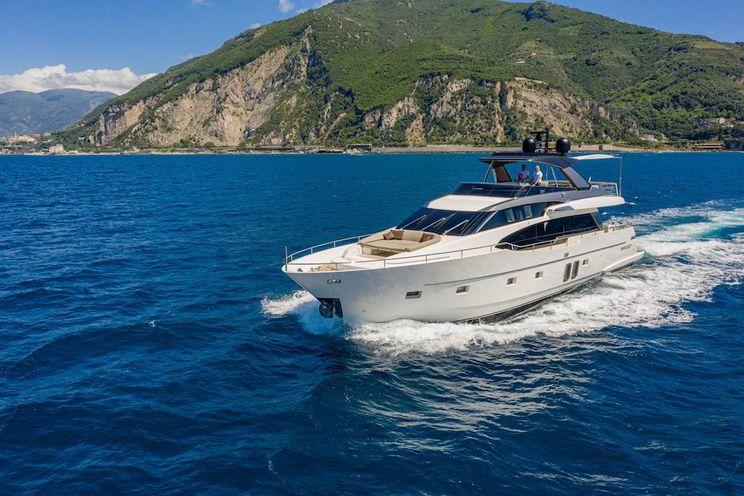 Charter Yacht LUCKY - Sanlorenzo SL 78 - 4 Cabins - Naples - Amalfi Coast - Sicily