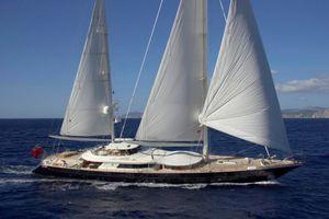 LUNA - Perini Navi 52m - 5 Cabins - Leeward Islands - Caribbean - Monaco - Cannes - San Remo - Sardinia