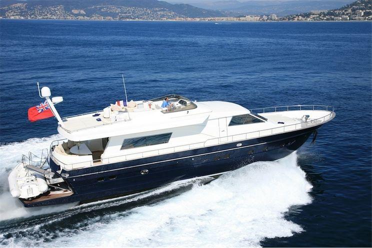 Charter Yacht DIAMS - Astondoa 72 - 4 Cabins - Cannes - Monaco - Nice
