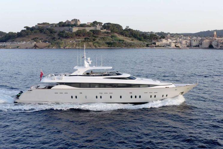 Charter Yacht M - Maiora 130 - Naples - Sicily - Corsica - Sardinia