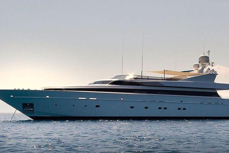 Charter Yacht MABROUK - Akhir 130 - 5 Cabins - Athens - Mykonos - Kos