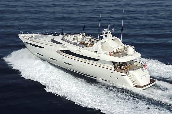 MABRUK III - 35m Leight Nautika - Cannes - Antibes - St Tropez - Monaco