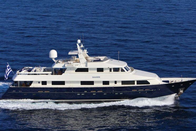 Charter Yacht MAGIX - Heesen 38m - 5 Cabins - Athens - Myknonos - Naxos - Kos