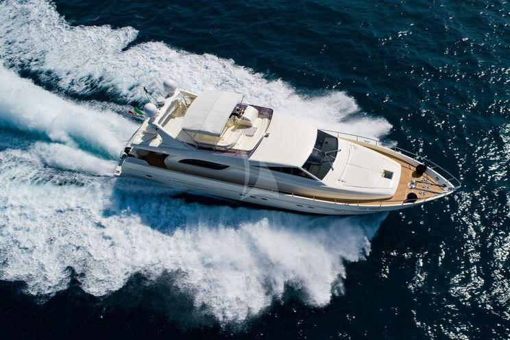 Charter Yacht MAITE - Ferretti 72 - 4 Cabins - Tuscany - Cala Galera - Sardinia - Corsica